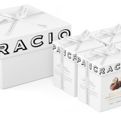 Caja de bombones para regalar. 4 recetas. Chocolates Pancracio