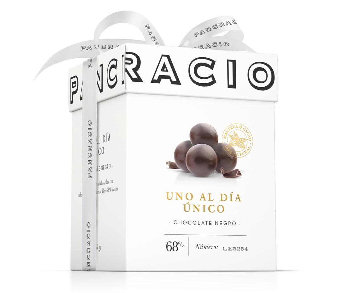 """One-a-day """"Unico"""" dark chocolate"""