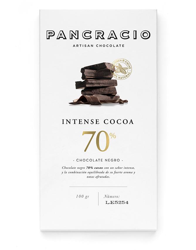 Intense Cocoa 70% Dark Chocolate Bar