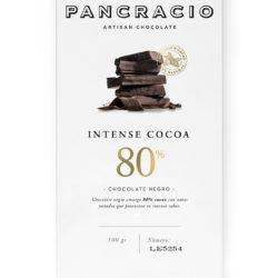 chocolate negro 80
