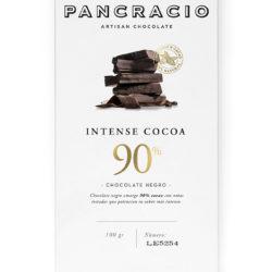 chocolate negro 90