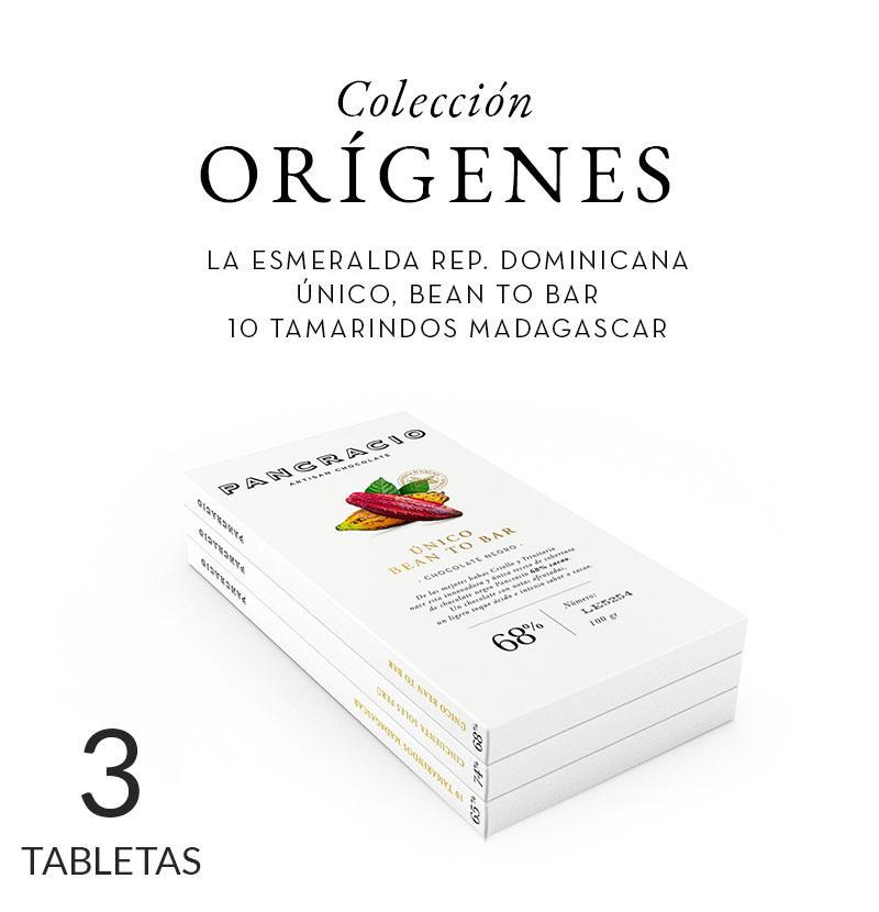 Colección Orígenes. 3 recetas