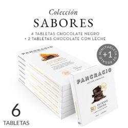 Cata de chocolates con frutos secos y caramelizados. Chocolates Pancracio