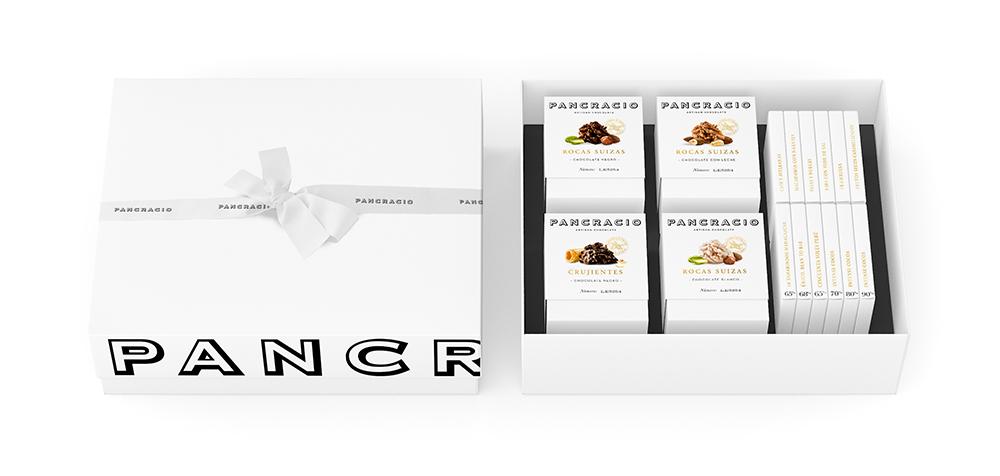 Gift Box 'XL'<br>4 x 140g Boxes + 12 x 45g Bars