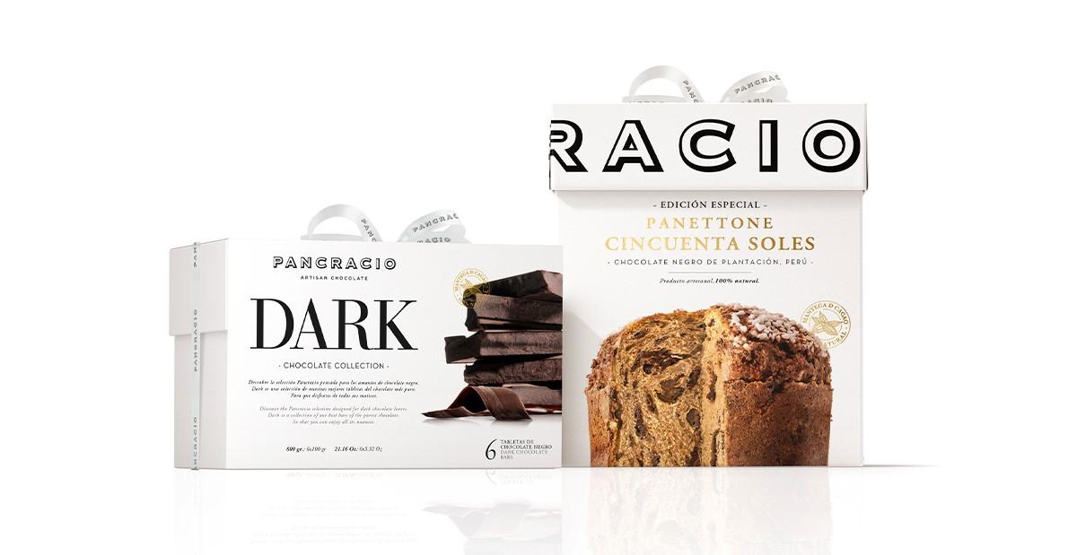 Regalo Panettone Cincuenta Soles y cata chocolates negros Dark